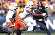 Freshman QB Kenny Pickett runs in Pitt's final touchdown against #2 Miami