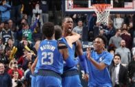 Harrison Barnes visits the bank at the buzzer