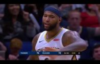 New Orleans edges OKC despite DeMarcus Cousins' ejection