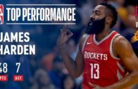 Rockets score 90 at half as James Harden stays hot