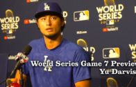 Yu Darvish discusses his poor performance against Houston in Game 7 of the World Series