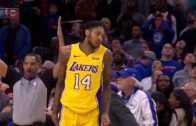 Brandon Ingram downs Sixers with clutch three-pointer