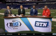 Urban Meyer discusses Ohio State's Big 10 Championship victory over Wisconsin