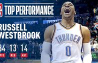 Westbrook comes up big with triple-double in Salt Lake City