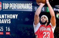 Anthony Davis dominates The Celtics in Beantown