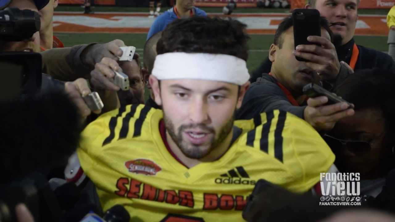Baker Mayfield says people want to portray him as