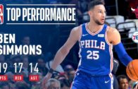 Ben Simmons racks up incredible triple-double in Philly