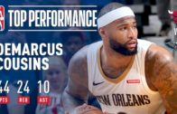 DeMarcus Cousins makes history with unbelievable triple-double