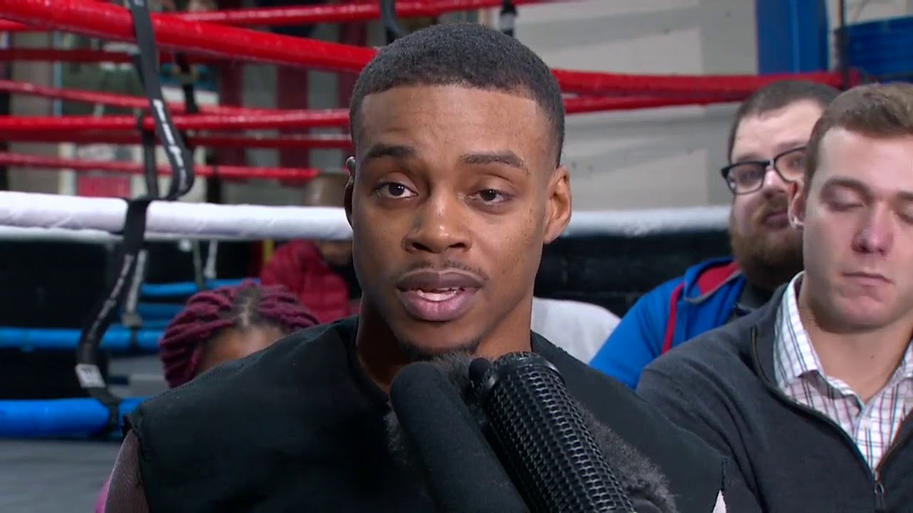 Errol Spence previews upcoming fight with Lamont Peterson