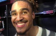 Jalen Hurts reacts to Tua Tagovailoa leading Alabama championship