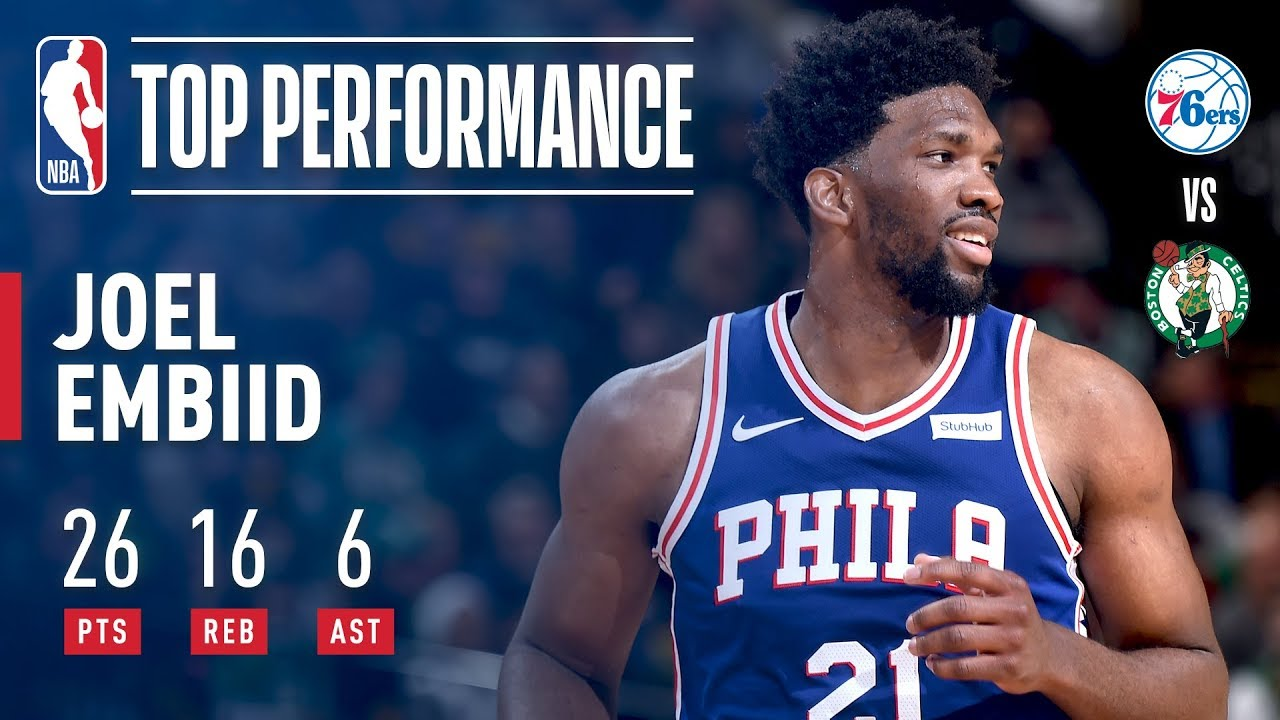 Joel Embiid shows out after being named an All-Star starter
