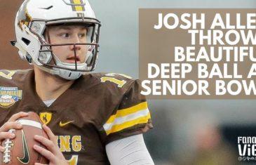 Josh Allen faces mixed reviews after Senior Bowl practice
