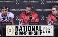 Nick Saban, Tua Tagovailoa, & Da'Ron Payne talks Alabama's National Championship win