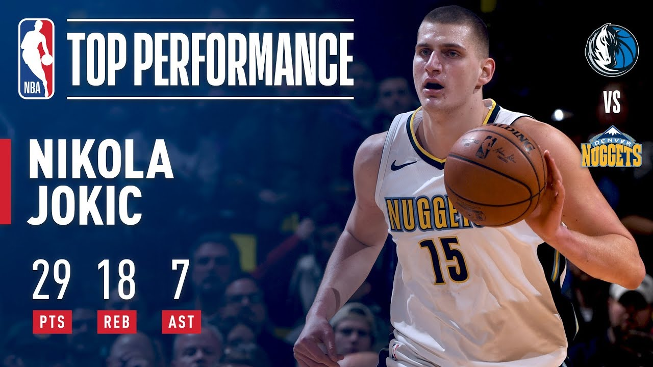 Nikola Jokic puts star power on display against the Mavs