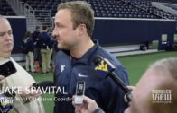 West Virginia's offensive coordinator Jake Spavital talks Heart of Dallas Bowl