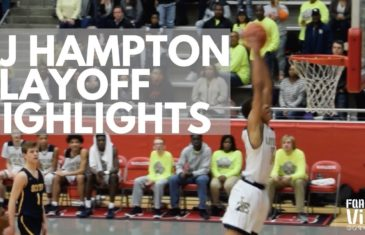 5 star recruit RJ Hampton dominates Highland Park in Texas State Playoffs