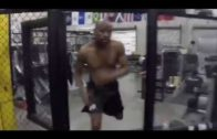 Floyd Mayweather steps into the octagon