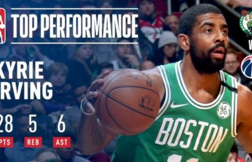 963c62138951 Uncle Drew. Irving Scores 28 As Celtics Fends Off Wizards in OT