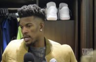 Jimmy Butler tells reporter only 3 questions but he asks 4 during interview