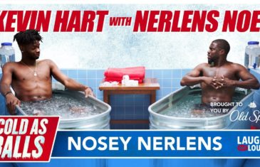 Kevin Hart takes ice bath and gets real with Nerlens Noel