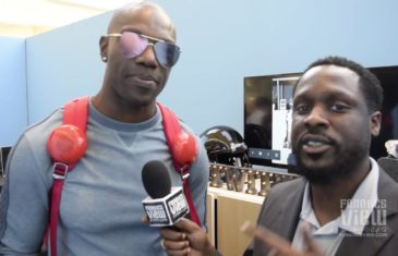 """Terrell Owens sponsored by Febreze for when you """"blow your bathroom up"""""""