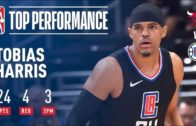 Tobias Harris drops 24 points in his Clippers debut