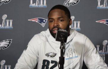 Torrey Smith speaks on Colin Kaepernick, Nick Foles almost retiring & NFL Protests