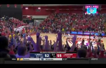 Carlik Jones' game-winner sends Radford to the Big Dance