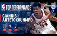 Giannis Antetokounmpo's 35 Points Help Bucks Comeback Against 76ers