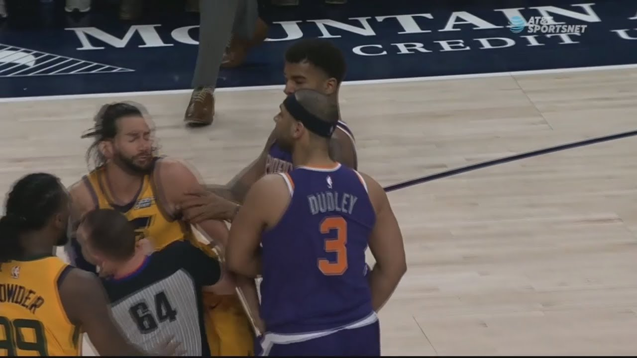 Jazz versus Suns gets dicey after cheap shot on Ricky Rubio