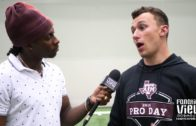 Johnny Manziel talks Overcoming The Past & 2018 Texas A&M Pro Day with De'Vante Harris