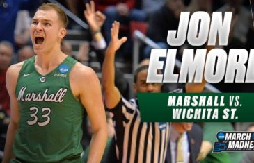 Jon Elmore leads Thundering Herd to first round upset over Wichita State