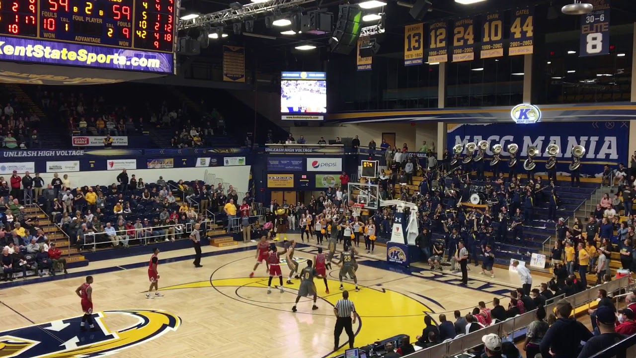 Kevin Zabo sends Kent State to MAC quarterfinals with buzzer-beating layup
