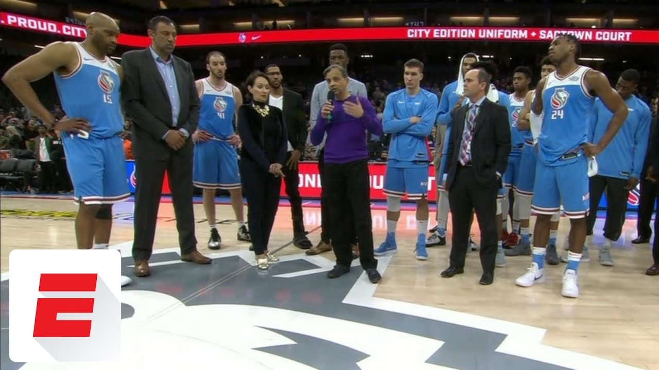 Kings Owner Vivek Ranadivé Addresses Fans After Stephon Clark Protest