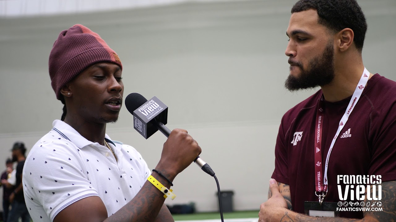 Mike Evans talks Bucs/Saints, New Contract & Texas A&M with De'Vante Harris