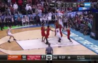 Zhaire Smith posterizes the Florida Gators roster with a filthy putback jam