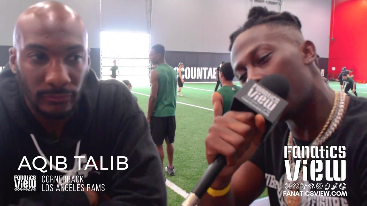 Aqib Talib & Von Miller Training Tour - A+D1 Behind The Scenes with De'Vante Harris
