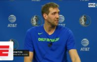 Dirk Nowitzki announces his return to the Mavs for another season