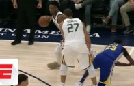 Donovan Mitchell leaves Draymond in the dust with vicious crossover