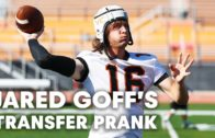 Jared Goff pulls an epic prank on Ventura College football team