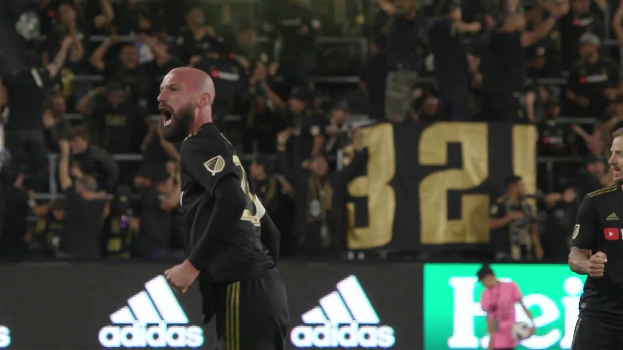 L.A.F.C. Defender Laurent Ciman Scores First Home Goal in Team History