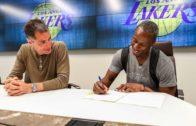 Lakers make Andre Ingram's lifelong NBA dream come true