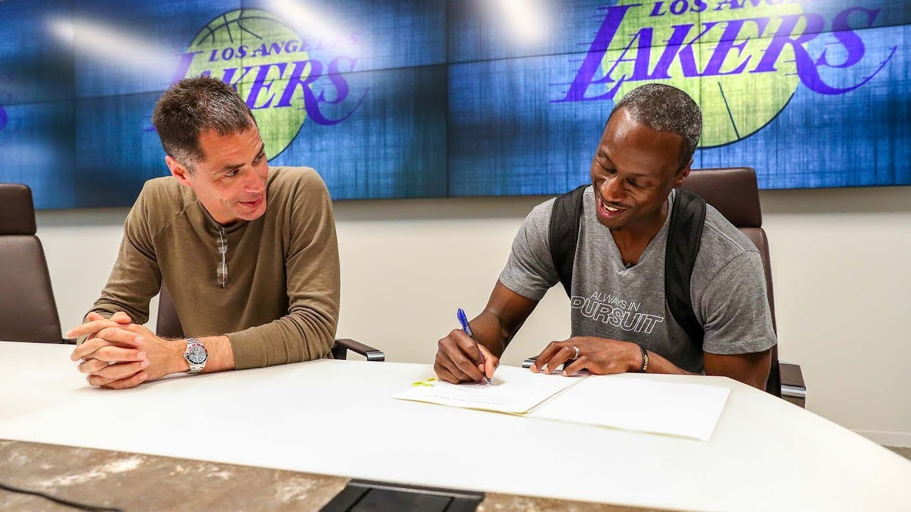 Lakers make Andre Ingram's lifelong NBA dream come true