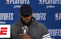 """LeBron James explains that """"He should know better"""" going against Stephenson"""