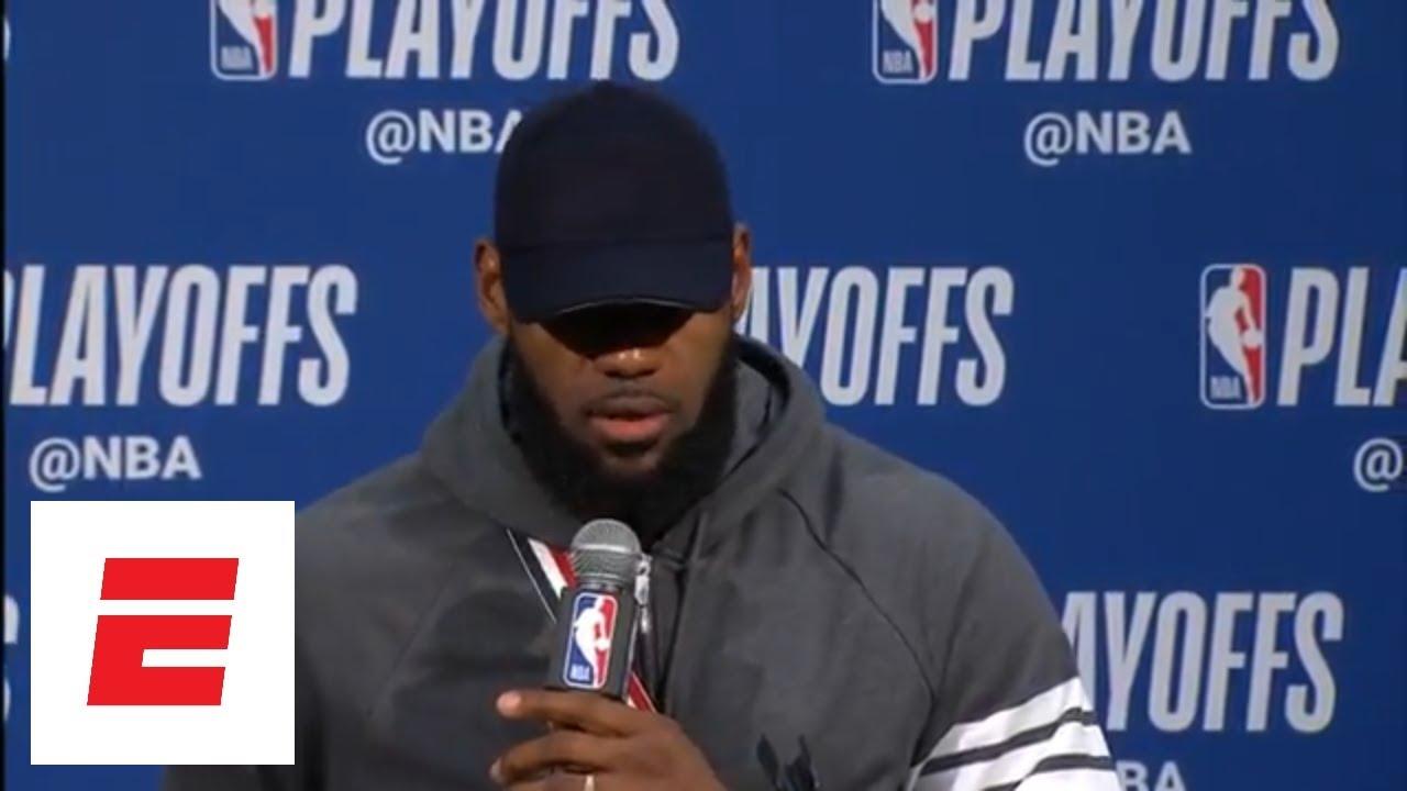 LeBron James explains that