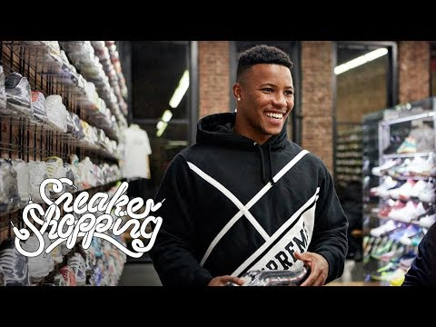 Saquon Barkley goes shoe shopping with Complex