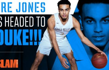 Slam gets up close and personal with Duke commit Tre Jones