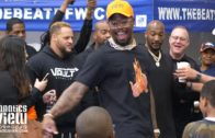 Von Miller Dances & Gets Lit with Kids at Von Miller Day in DeSoto