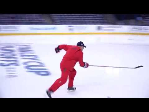 Barry Trotz's Flying Hot Lap