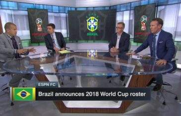 Brazil Names 2018 World Cup Roster